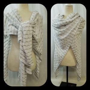 Eileen Fisher organic linen wrap